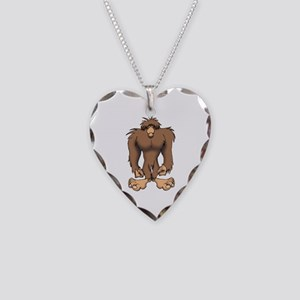 BIGFOOT Necklace Heart Charm