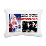 Official CHURCH OF ED WOOD Rectangular Pillow