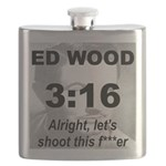 The OFFICIAL ED WOOD freaking FLASK!!!
