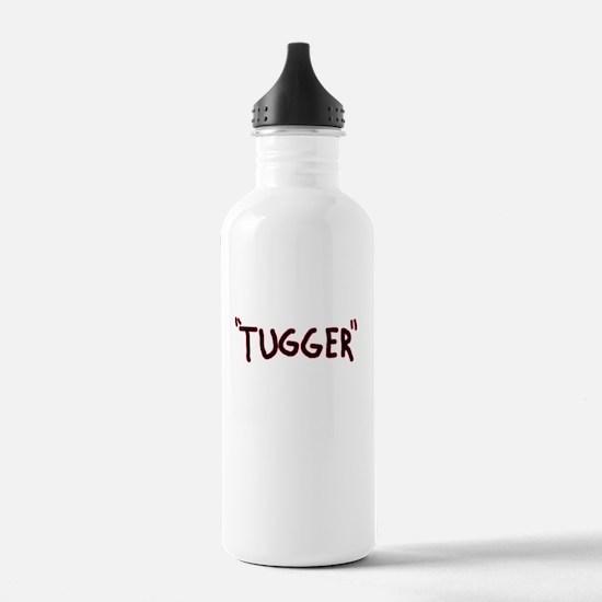 tugger boat shirt Water Bottle