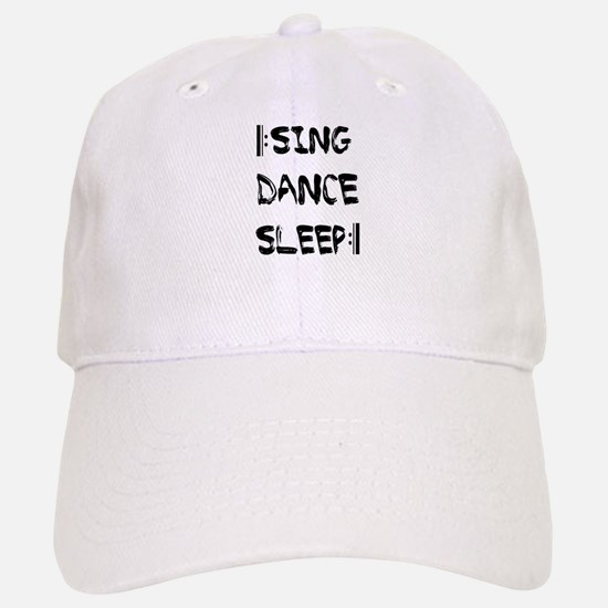 [:SING DANCE SLEEP:] Baseball Baseball Cap