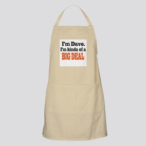 Big Deal (Orange) Apron