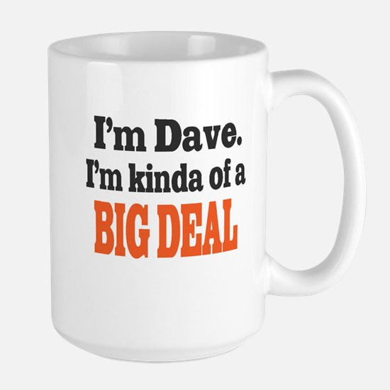 Big Deal (Orange) Large Mug