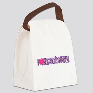 I love Cheer Canvas Lunch Bag