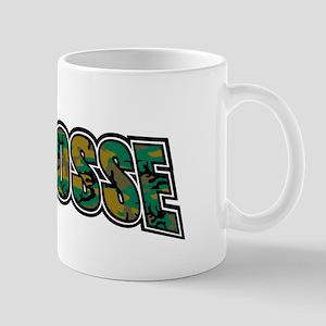 Lacrosse Army Camo Mug
