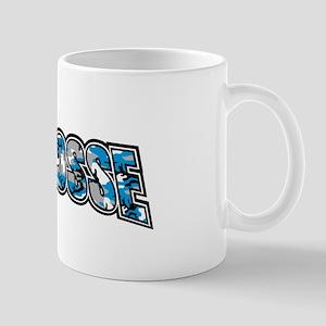 Lacrosse Blue Camo Mug