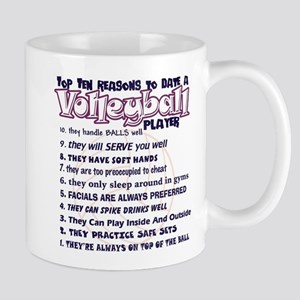 Volleyball Top Ten Reasons To Date Mug