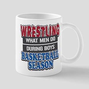 Wrestling What Men Do Mug