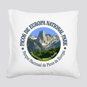 Picos de Europa NP Square Canvas Pillow