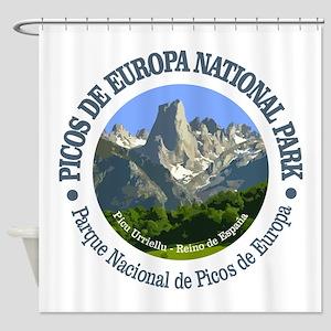 Picos de Europa NP Shower Curtain