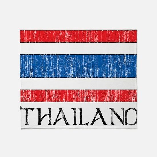 Cute Thailand Throw Blanket