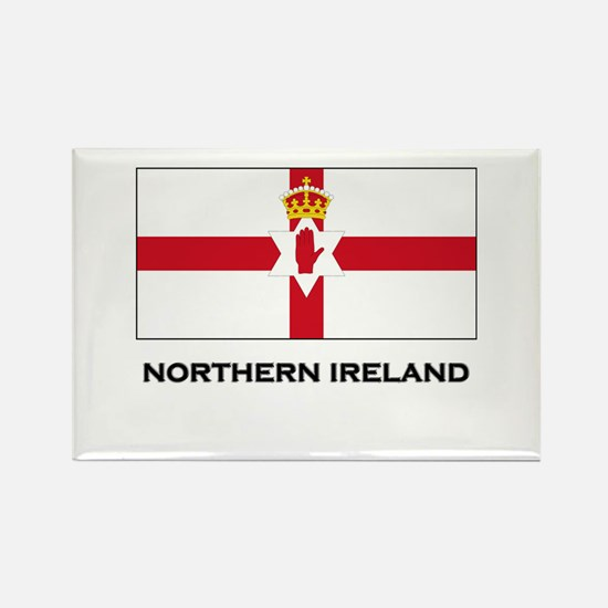 Northern Ireland Flag Merchandise Rectangle Magnet