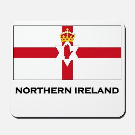 Northern Ireland Flag Merchandise Mousepad