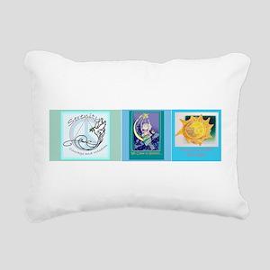DesignerBOOKmarks Rectangular Canvas Pillow