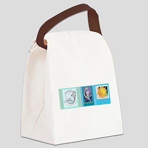 DesignerBOOKmarks Canvas Lunch Bag