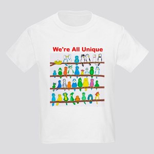 Were All Unique Kids Light T-Shirt
