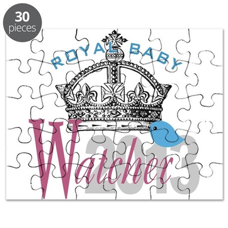 Royal Baby Watcher 2013 Puzzle