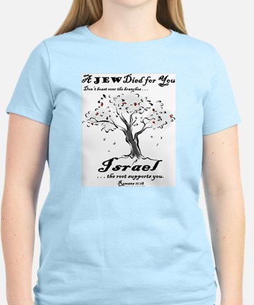 A Jew Died for You Ash Grey T-Shirt T-Shirt