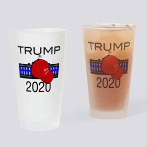 Trump 2020 election Drinking Glass