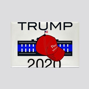 Trump 2020 election Rectangle Magnet