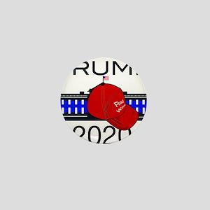 Trump 2020 election Mini Button