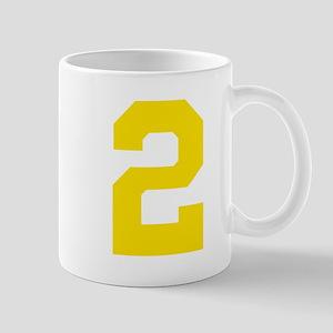 2 YELLOW # TWO Mug
