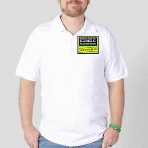 Golf Is A Quiet Game/t-shirt Golf Shirt