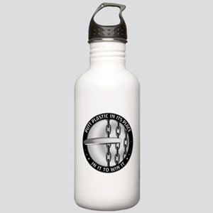 Putt Plastic In Its Pl Stainless Water Bottle 1.0L