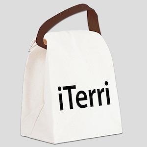iTerri Canvas Lunch Bag