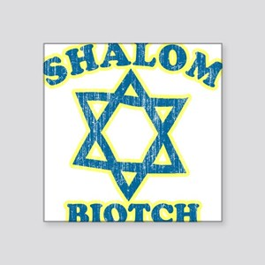 Shalom Biotch Rectangle Sticker