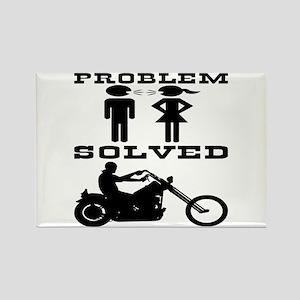 Biker Gone Riding #2 Rectangle Magnet