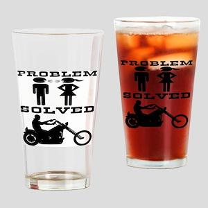 Biker Gone Riding #2 Drinking Glass