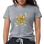 treepuzzle_4x4.png Womens Tri-blend T-Shirt
