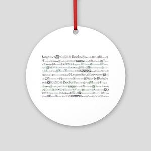 lallybroch Ornament (Round)