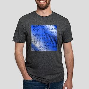 Particle physics equations Mens Tri-blend T-Shirt