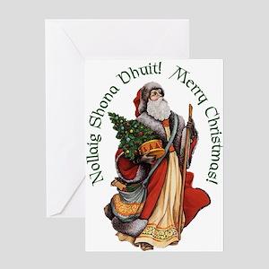 santanollaigcard Greeting Cards