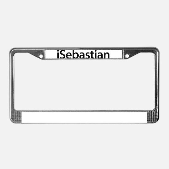 iSebastian License Plate Frame