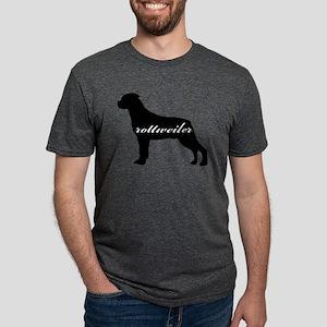 rottweiler Mens Tri-blend T-Shirt