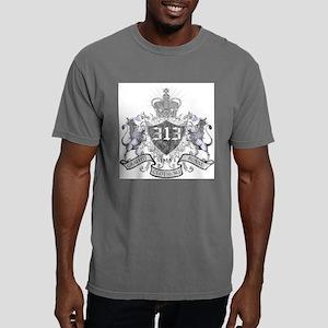 313- LION CREST Mens Comfort Colors Shirt