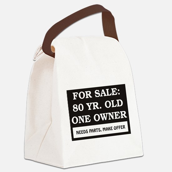 For Sale 80.jpg Canvas Lunch Bag