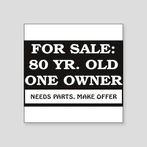 """For Sale 80 Square Sticker 3"""" x 3"""""""