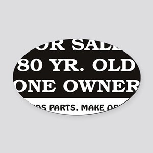 For Sale 80 Oval Car Magnet