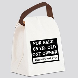 AGE_for_sale65 Canvas Lunch Bag