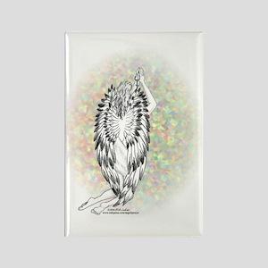 An Angel's Prayer Rectangle Magnet