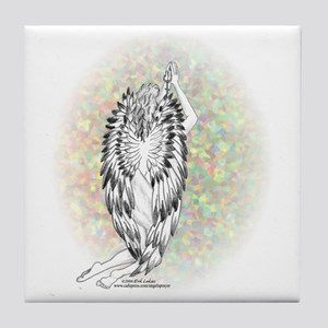 An Angel's Prayer Tile Coaster