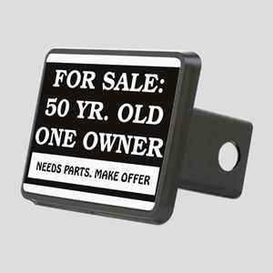 For Sale 50 Year Old Birth Rectangular Hitch Cover