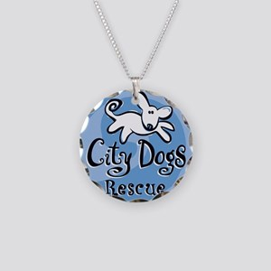 City Dogs Rescue Necklace Circle Charm