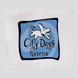 City Dogs Rescue Throw Blanket