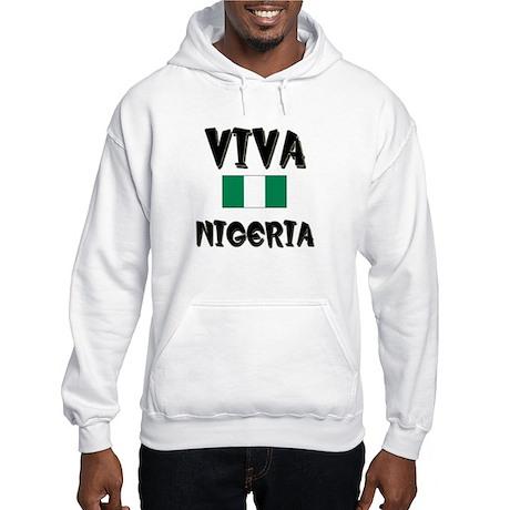 Flag of Nigeria Hooded Sweatshirt