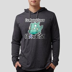 Esophageal Cancer BITES Mens Hooded Shirt
